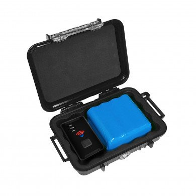Spytec M6 6-Month Extended Battery and All-Weather Case w/ Spytec STI GL300MA 4G LTE GPS Tracker