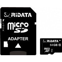 64GB Micro-SD Card Class 10 RiDATA