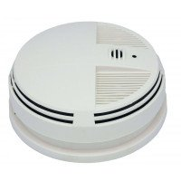 Zone Shield Wi-Fi Night Vision Smoke Detector (Side View)